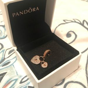 Pandora Love Locks Dangle Charm